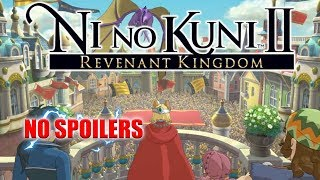 BEST RPG IVE PLAYED IN A LONG TIME!!! | END GAME DUNGEONS | LAUNCH DAY HYPE!! | NI NO KUNI 2