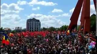 9 МАЯ 2015 МЕМОРИАЛ В КИШИНЁВЕ