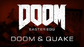 Doom - Easter Egg: Doom and Quake posters