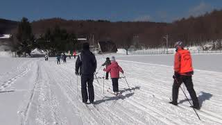 歩くスキー体験! 小樽ジュニアスポーツ研修会画像