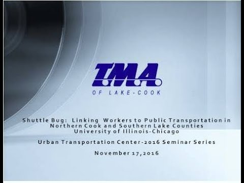 TMA of Lake Cook Shuttle Bug Presentation