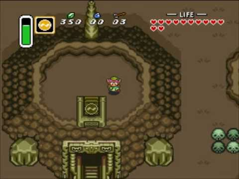 The Legend of Zelda: A Link to the Past - Part 14 (Turtle Rock - SNES Swordless and Minimalist)