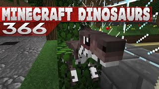 Minecraft Dinosaurs! || 366 || Building Caving