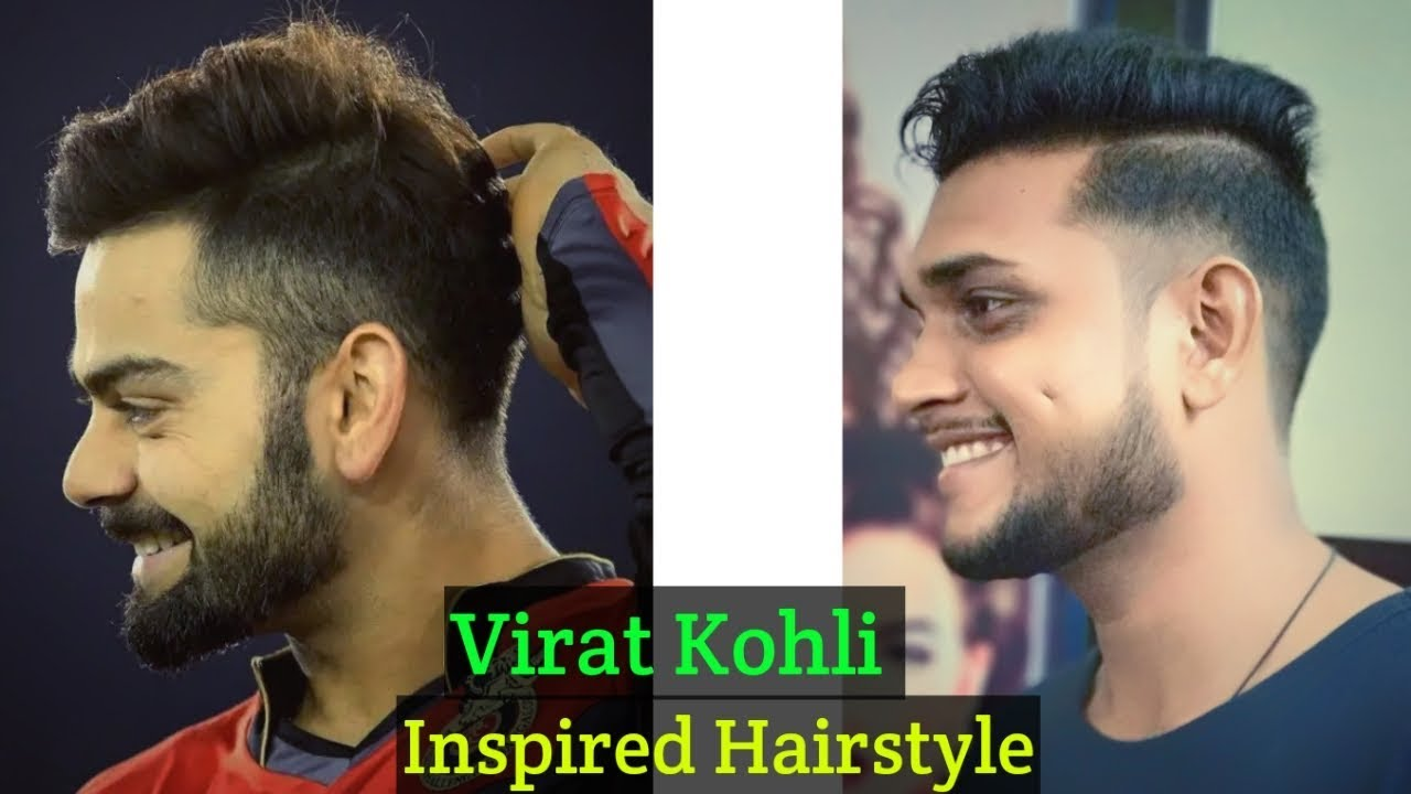 virat kohli hairstyle inspired haircut 2018 - men's hairstyles