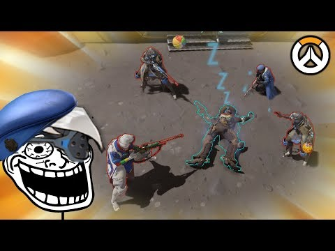 OVERWATCH ► FUNNIES, FAILS & CRAZY MOMENTS #72