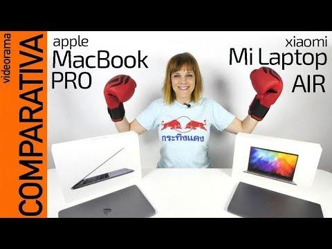 MacBook PRO vs Xiaomi Mi Laptop Air comparativa -FALSOS gemelos