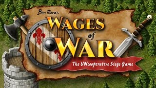 Wages of War: The Uncooperative Siege Game - TRAILER