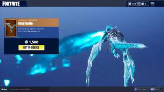 FROSTWING GLIDER! & MAGNUS SKINS! (Fortnite Item Shop September 19)