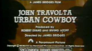 Urban Cowboy 1980 TV trailer # 2