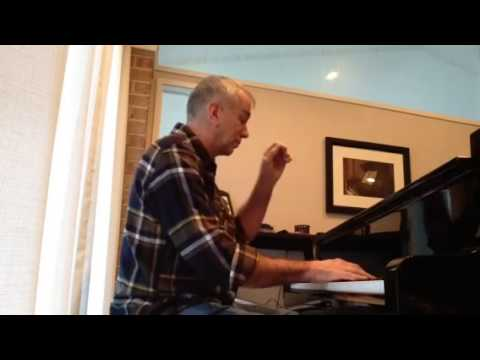 "Dan Chadburn - ""Heroes"" (a solo piano improvisation - January 7, 2014)"