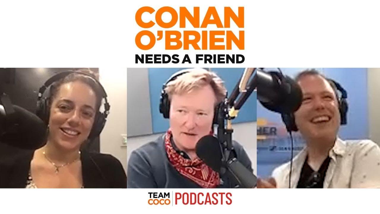 Conan Introduces Sona's Temporary Replacement | Conan O'Brien Needs a Friend