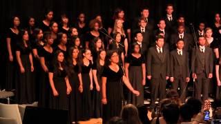 Townview Choir Concert -- Fall 2014 -- Sanctus; Race is Run; Plenty Good Room