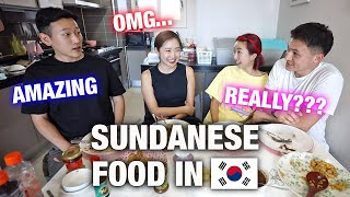 Download FIRST TIME MAKING SUNDANESE FOOD FOR OUR KOREAN FRIENDS IN KOREA! | SHOCKING RESULT