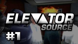 Gmod - Elevator: Source W/ Gassy, Diction, Renee, & Galm #1