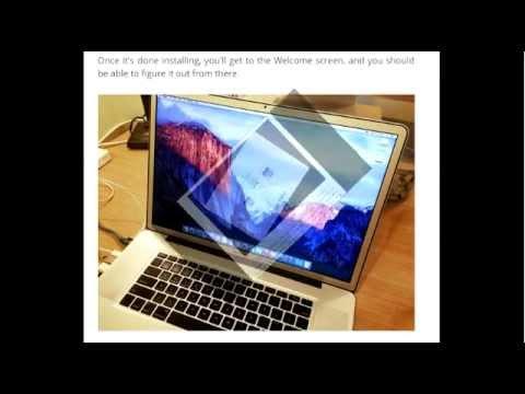 How To Create A Bootable Install USB Drive Of Mac OS X 10 11 El Capitan