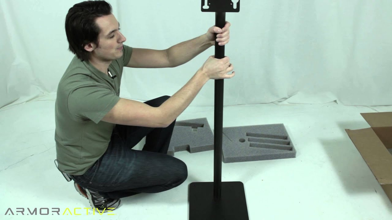 Quick stand ipad kiosk assembly how to youtube solutioingenieria Choice Image
