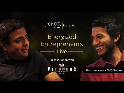TVF Energized Entrepreneurs Live | S01E01 Ft. Ritesh Agarwal