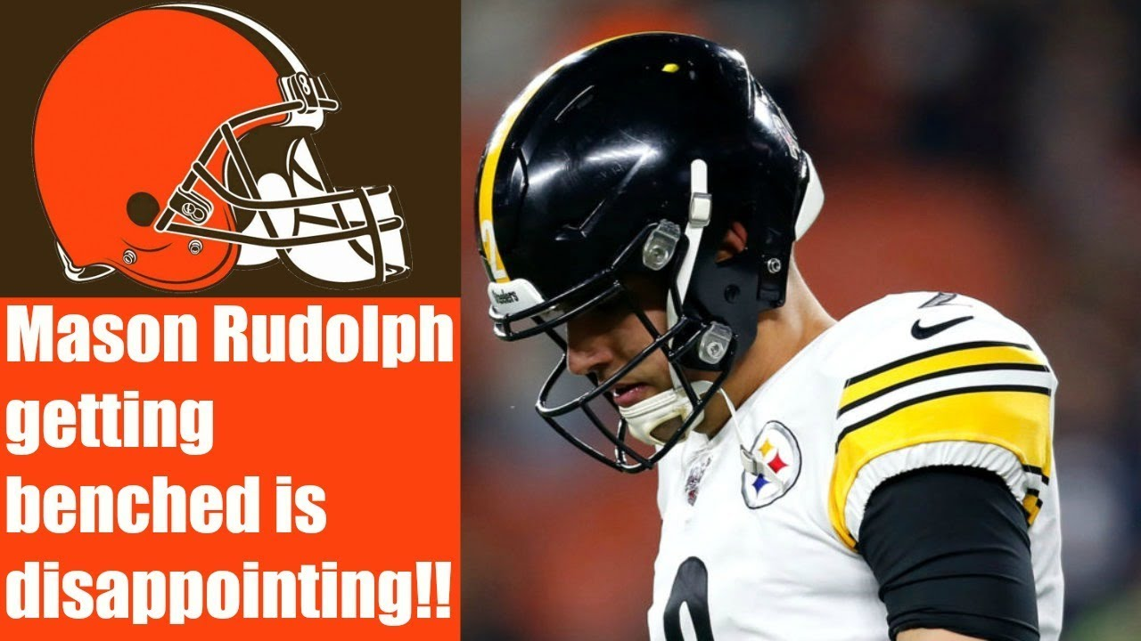 I M Disappointed The Browns Don T Get To Face Mason Rudolph Again Youtube