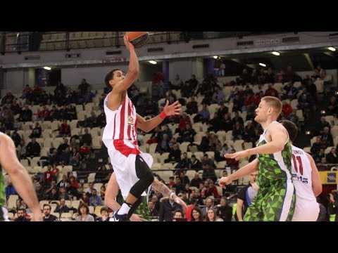 Brian Roberts Highlights vs G.S. Larissas Faros | 2017/18 Greek Basket League