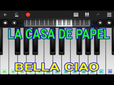 LA CASA DE PAPEL /BELLA CIAO/ PIANO /ANDROID