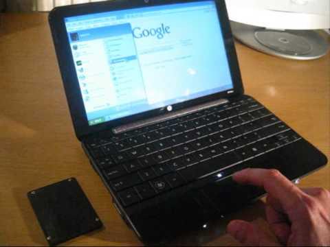 RunCore 1.8 inch SSD on HP Mini 1000