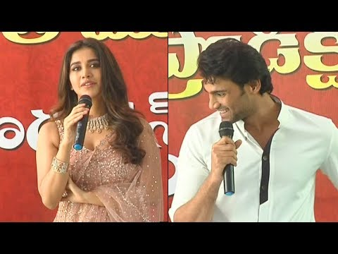 Bellamkonda Sai Sreenivas New Movie Opening Video | Nabha Natesh | Director Santosh Srinivas | DC