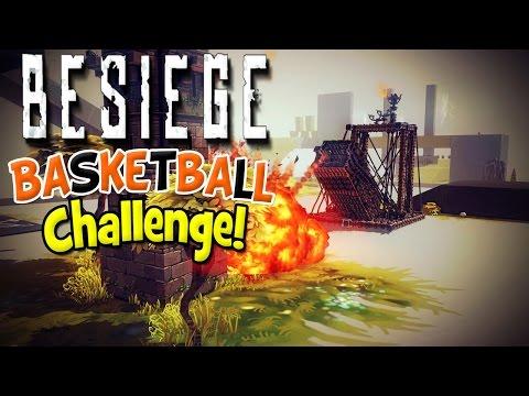 Besiege! | Basketball Challenge!