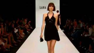 Lana Fuchs Attracts Attention During LA Fashion Week