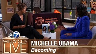 Michelle Obama discusses her new book
