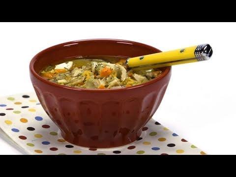 Chicken Alphabet Soup Recipe - Kids Love It!