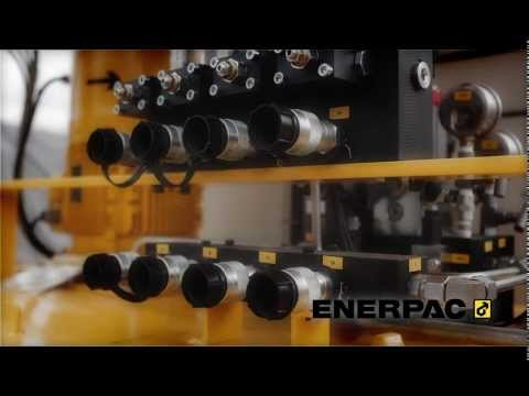 Synchronous Lifting System | Enerpac EVO-Series