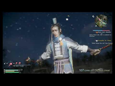 Dynasty Warriors 9 - Guo Huai Gameplay + Ending