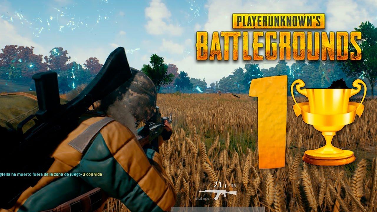 Playerunknowns Battlegrounds: GANAMOS EN PLAYERUNKNOWN'S BATTLEGROUNDS
