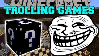 Minecraft: WITCHES TROLLING GAMES - Lucky Block Mod - Modded Mini-Game
