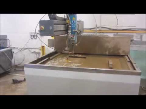 Used Compact Flow water jet cutting machine for sale