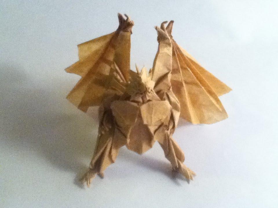 Origami Divine Dragon Satoshi Kamiya