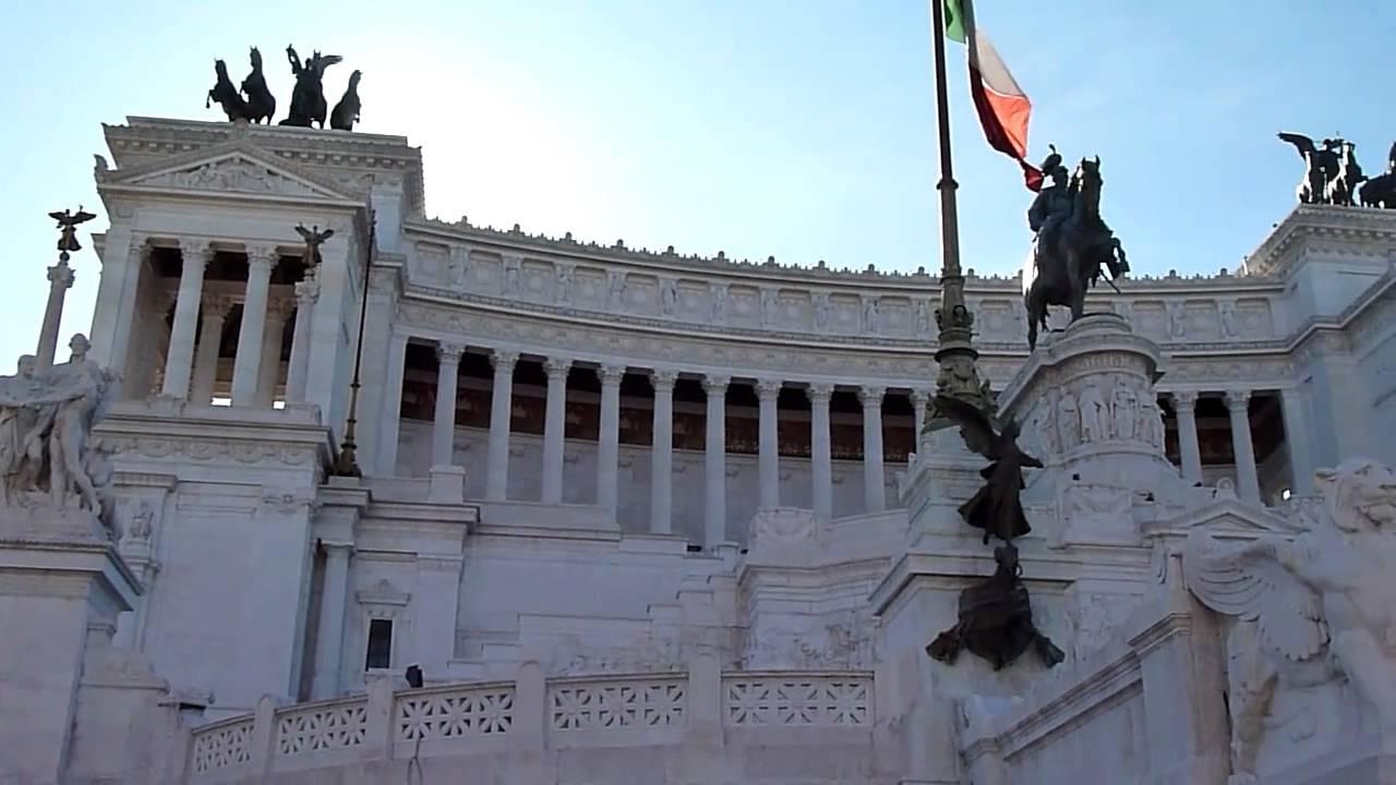 Monumento a Vittorio Emmanuel II, Roma - YouTube