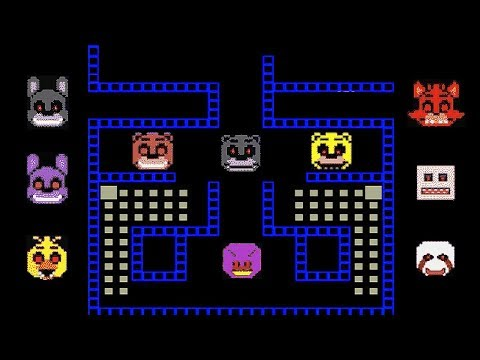 FNAF PAC-MAN Remake - Purple Guy Nightmare!