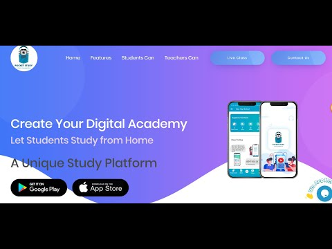 Pocket Study App- a new age LMS for your digital institute