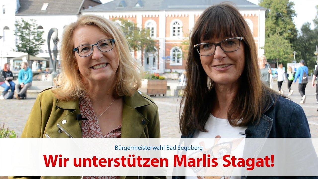 Ragna Carstens und Kathleen Bayer-Nowitzki für Marlis Stagat