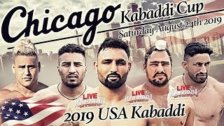 L VE   Chicago Kabaddi Cup   2019 USA KABADD