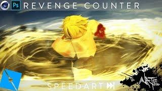 Roblox GFX Speedart - Revenge Counter [C4D+PS]