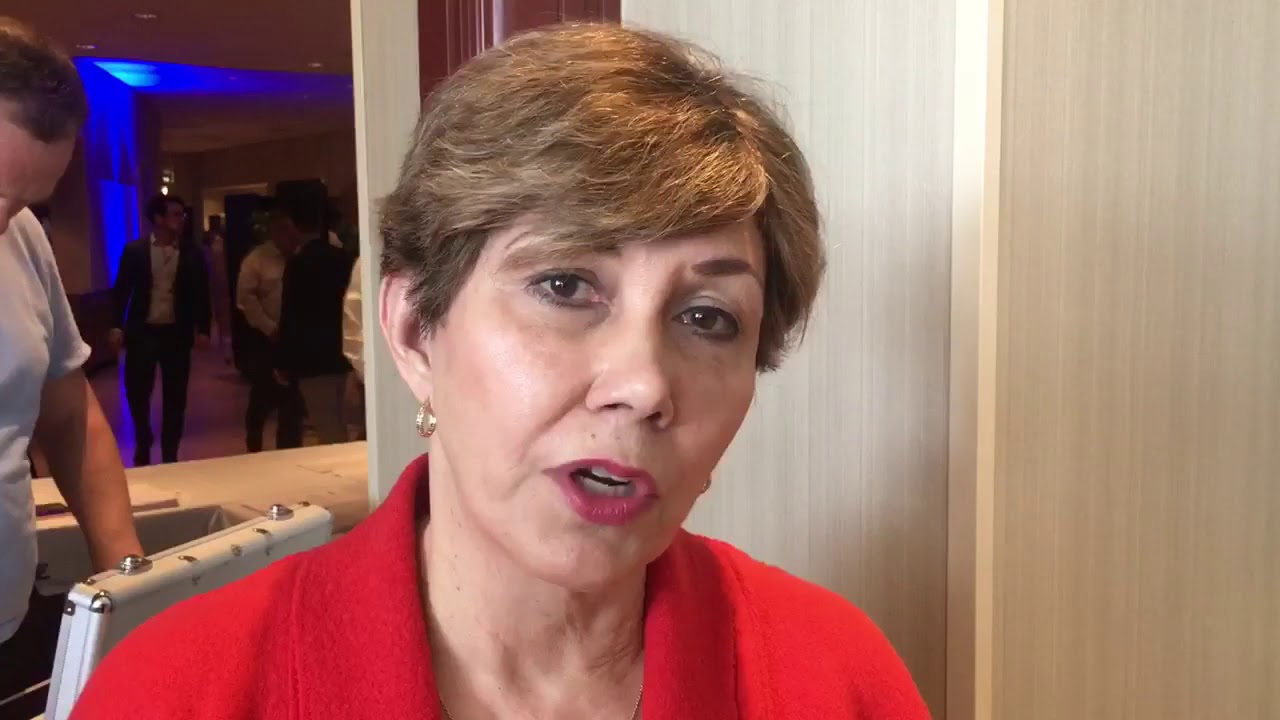 Ms. Linda Chavez 's message before the #FreeIran2018 Grand Gathering