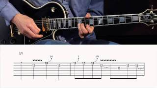 "B.B. King ""Paying the Cost to Be the Boss"" Guitar Lesson @ GuitarInstructor.com (preview)"
