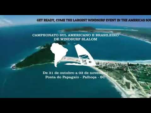 Chamada Oficial Campeonato Sulmaricano de Windsurf Slalom