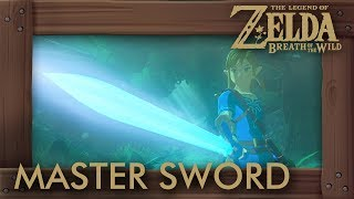 Zelda Breath of the Wild - True Master Sword Cutscene (Fi Easter Egg)