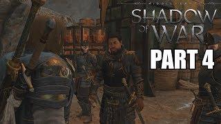 Middle Earth Shadow Of War Walkthrough Part 4 NO MAN