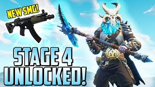 RAGNAROK STAGE 4 UNLOCKED! NEW SMG IS INSANE!!! - Fortnite Battle Royale Gameplay