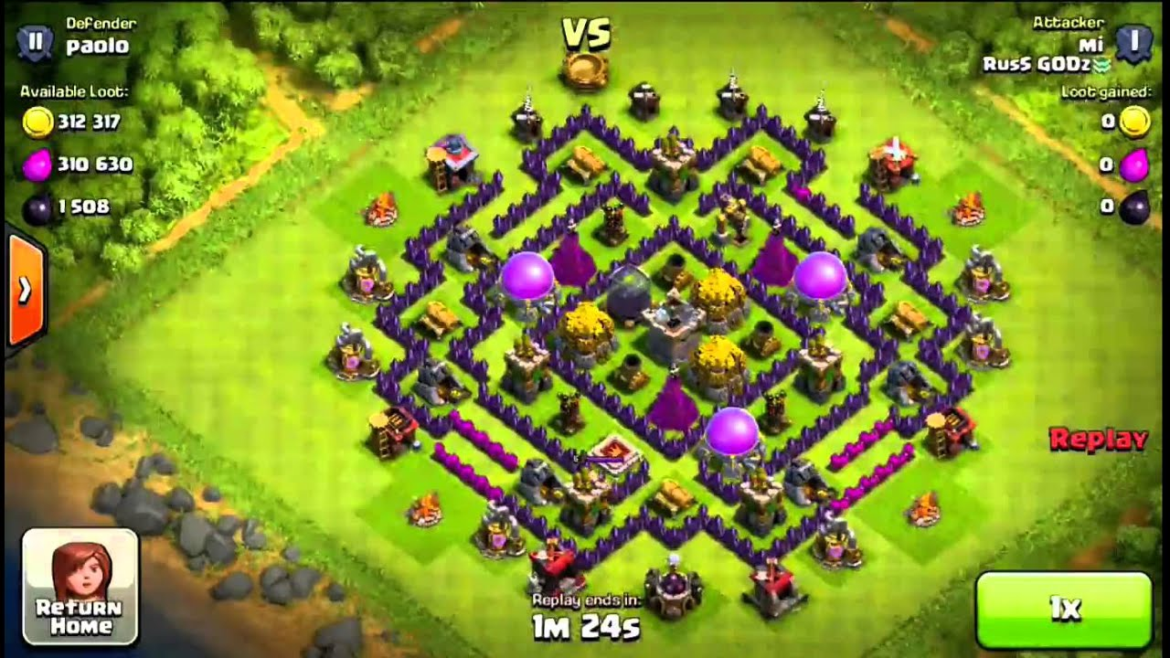 The Best TH8 Farming Base Ever Seen- 720p