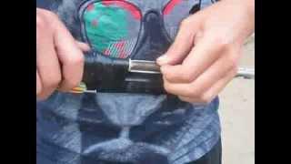 (№10) Самодельное резино-поршневое ружье!